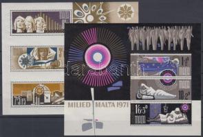 1971/1973 Karácsony blokkok Mi 1, 3