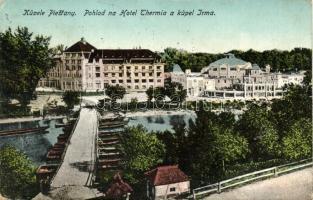Pöstyénfürdő, Thermia szálló, Irma fürdő / hotel, spa (EK)