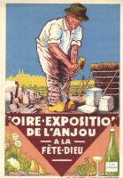 Foire Exposition de l'Anjou a la Fete Dieu, Vin d'Anjou / Corpus Christi day festival, Anjou, úrnapi fesztivál