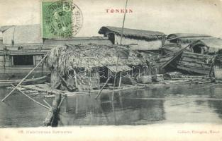Tonkin, houseboats