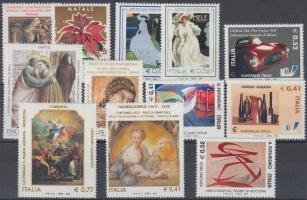 2003 Festmények, kultúra 12 db bélyeg