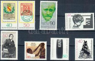 1978/1982 Események 8 klf bélyeg (közte pár) Mi 973 + 980-981 + 1000-1001 + 1003 + 1120 + 1146