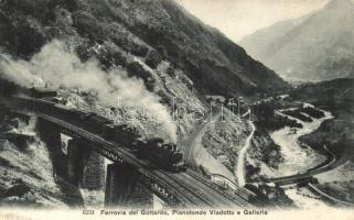 Gotthard railway, Ferrovia del Gottardo; Piano Tondo viaduct