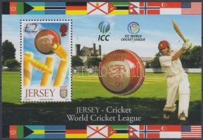 2008 Jersey részvétele a Krikett Világszövetségben blokk Mi 69