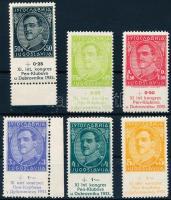 1933 Pen Klub Kongresszus sor Mi 249-254
