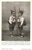 I piccoli Alpinisti Vegetariani Carlo e Otto / Italian Tyrolean folklore, Tirol, olasz folklór