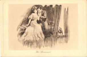 His Successor, Romantic couple, Alfred Schweizer Life's Comedy s: Stuart Travis, Romantikus pár, kutya s: Stuart Travis