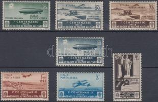1934 Légiposta bélyeg sor Mi 505-511 (barnás gumi / brownish gum)