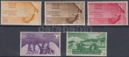 1935 Légiposta bélyeg sor Mi 538-542 (barnás gumi / brownish gum)