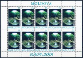 2001 Europa CEPT víz, az élet forrása kisív Mi 388