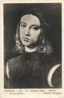 Ritratto di un Ignoto / Portrait, pinx. Pietro Perugino, Pietro Perugino portréja