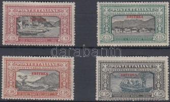 1924 Mi 74-77 (77 elvékonyodott papír)