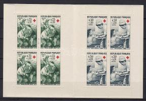 Red Cross stamp booklet, Vöröskereszt bélyegfüzet, Rotes Kreuz Markenheftchen