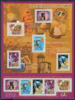 Communication in the 20th Century minisheet, Kommunikáció a 20. században kisív