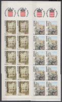 1989 Monaco-i látképek 2 bélyegfüzet MH 3-4 (Mi 1902-1903)