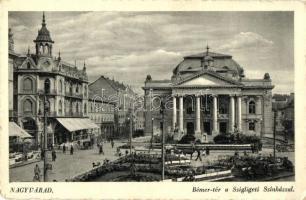 Nagyvárad, Bémer tér, Szigligeti színház / square, theatre (EK)