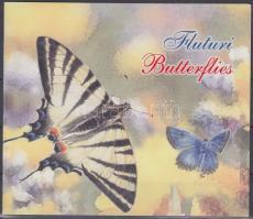2003 Lepkék bélyegfüzet MH 6 (Mi 459-462)