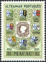 1953 100 éves a portugál bélyeg Mi 404