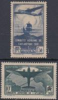 1936 Repülés sor Mi 326-327