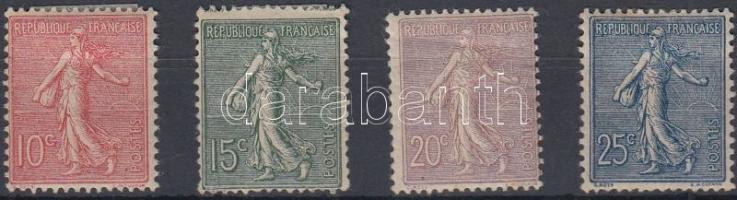 1903 Forgalmi sor Mi 108-111 (hiányzik a záró érték)