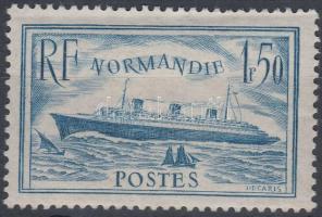 1936 Normandie utasszállító hajó Mi 316