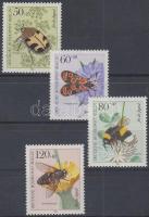 1984 Beporzó rovarok sor Mi 712-715