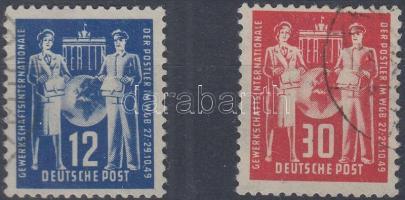 1949 Nemzetközi szakszervezeti egyesület sor Mi 243-244