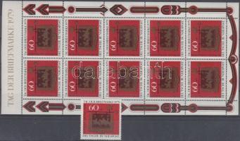 1979 Bélyegnap bélyeg + kisív Mi 1023