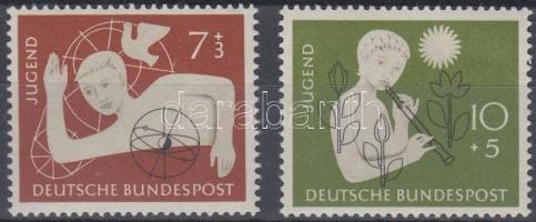 1956 Ifjúság sor Mi 232-233