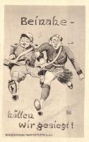 Beinahe hätten wir gesiegt! / German military propaganda, humour, Humoros német katonai propaganda