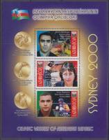 2001 Olimpia érmesei blokk Mi 44