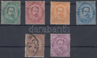1879 Mi 37-42 A