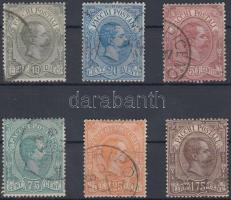 1884 Csomagbélyeg / Parcel stamps Mi 1-6