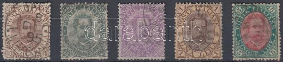 1889 Mi 50-54