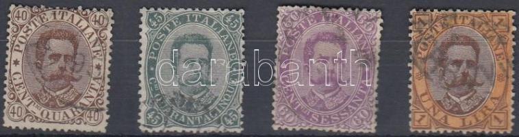 1889 Mi 50-53 (hiányzik a záró érték)