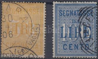 1903 Verrechnungsmarken Mi 4-5