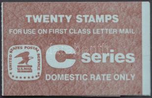 Definitive internal stamp-booklet, Forgalmi belföldi bélyegfüzet