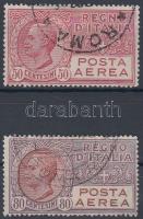 1928 Légiposta bélyeg sor Mi 279-280