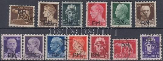 Tábori posta 1943 Mi 1-13 (hiányzik a záróérték)