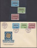 Europa CEPT set + FDC, Europa CEPT sor + FDC