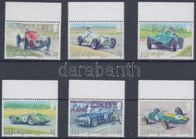 2008 Brit autóverseny ívszéli sor Mi 1446-1451
