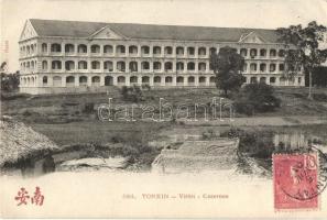 Tonkin barracks, TCV card
