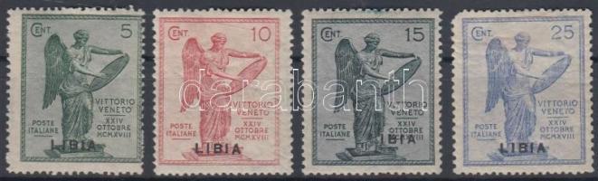 1922 Veneto tartomány sor Mi 45-48