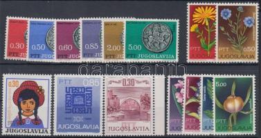 15 diff. stamps, 15 klf bélyeg
