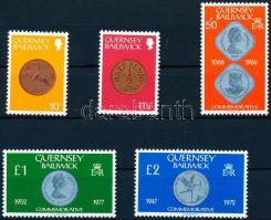 1980 Érmék sor Mi 199-203