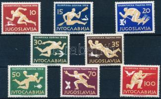 1956 Nyári olimpia, Melbourne sor Mi 804-811