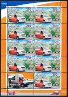 Europa CEPT Postal vehicles minisheet II, Europa CEPT Postai járművek kisív II.