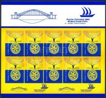 Rotary self adhesive minisheet, Rotary öntapadós kisív