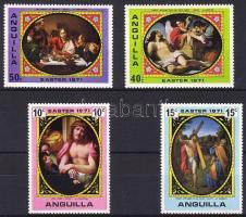 1971 Húsvét, festmények sor Mi 119-122