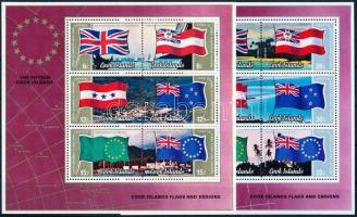 Flags block pair, Zászlók blokk pár